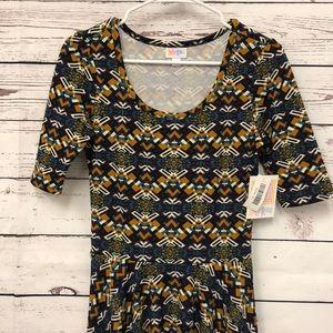 LulaRoe Aztec print Nicole dress